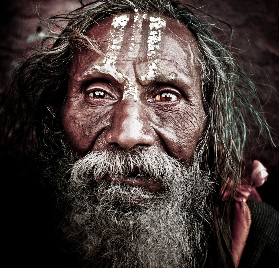 Photograph Nepalese Man by Branlin Shockey on 500px