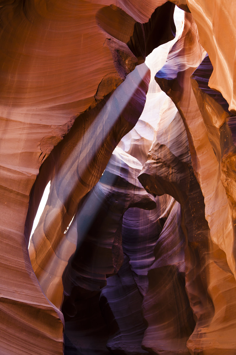 Photograph Lower Antelope Canyon sun rays by Marco Mechi on 500px
