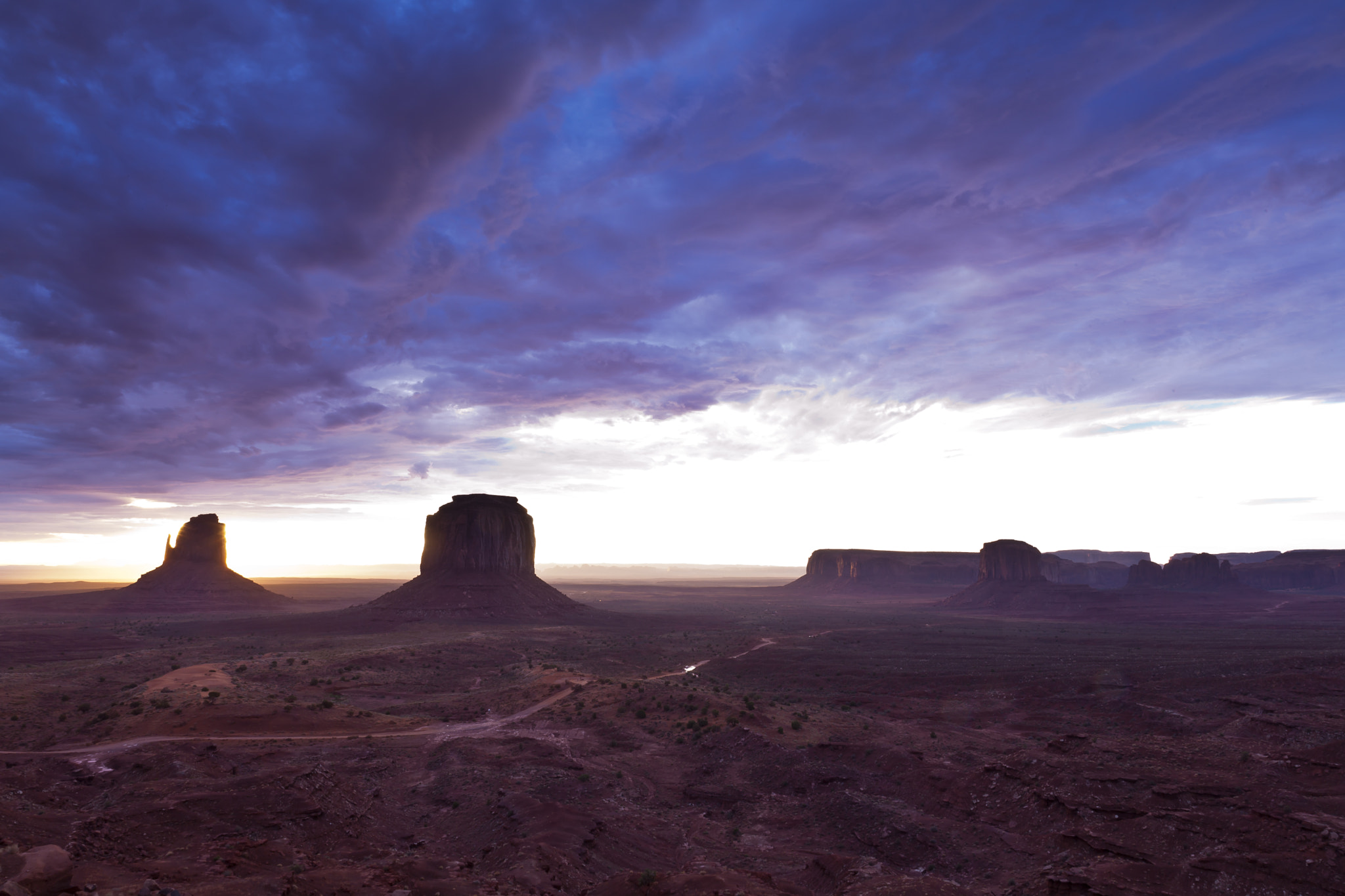 Photograph Another day in the Monument Valley by Marco Mechi on 500px