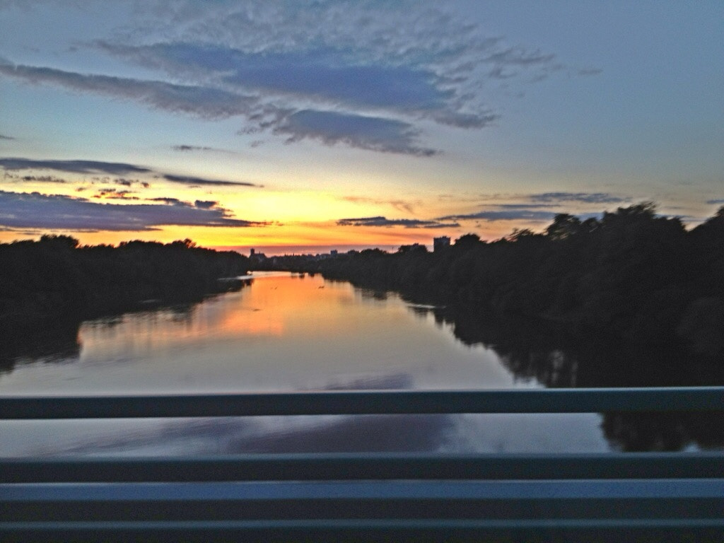 Photograph Sunset river!   by Ben Watson on 500px