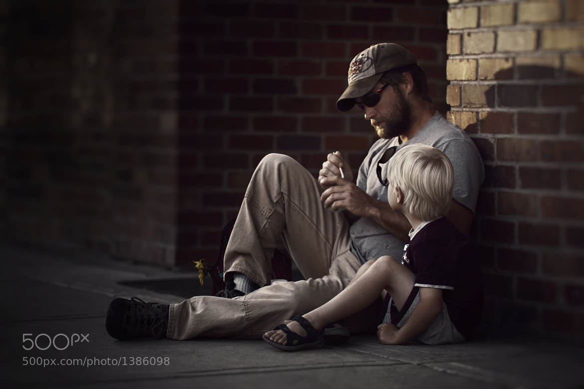 Photograph Father and Son by Mohammed Baqer on 500px