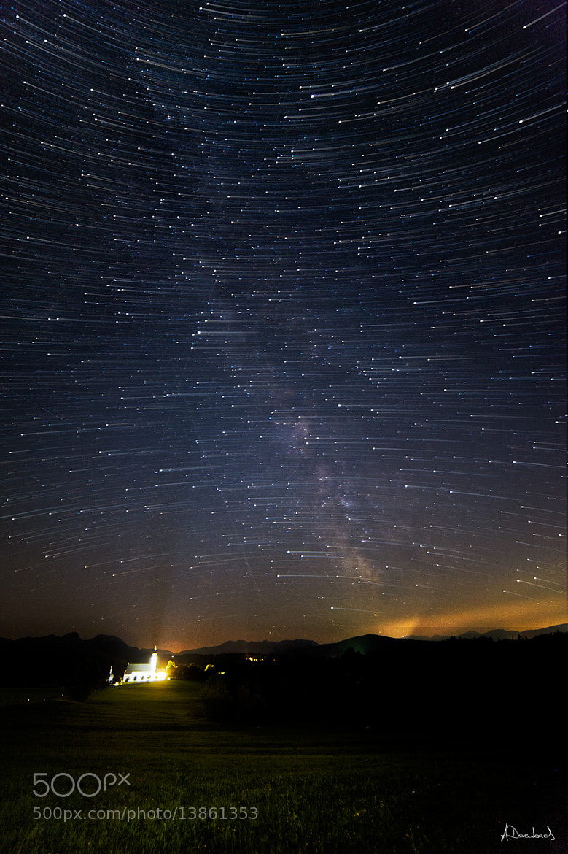 Photograph Wilperting - Startrails by Alexander Derenbach on 500px
