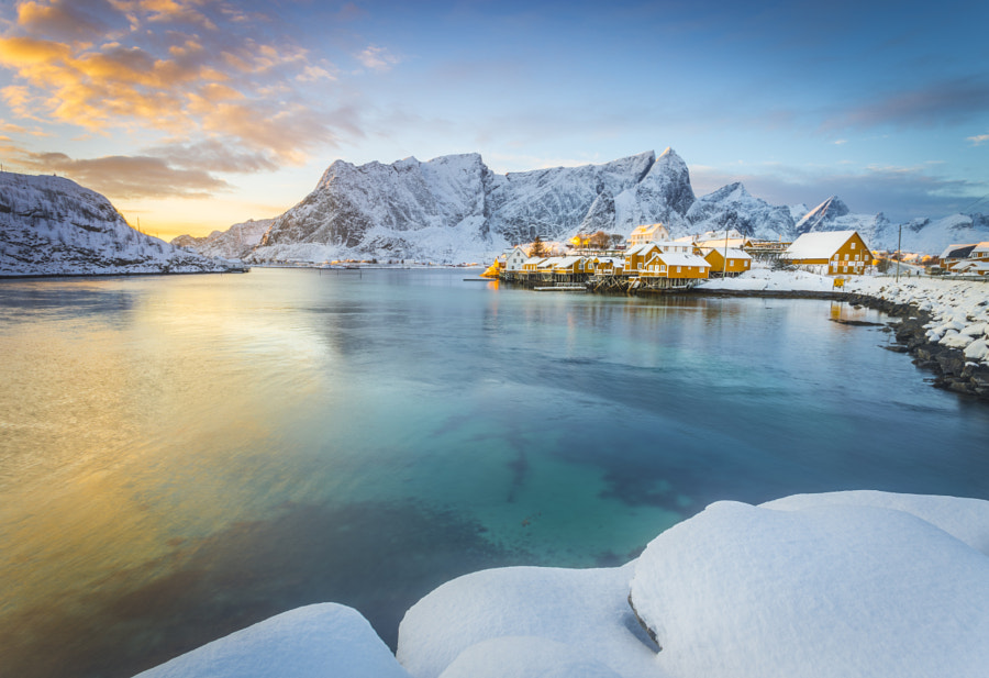 Lofoten sunset by Stefano Termanini on 500px.com