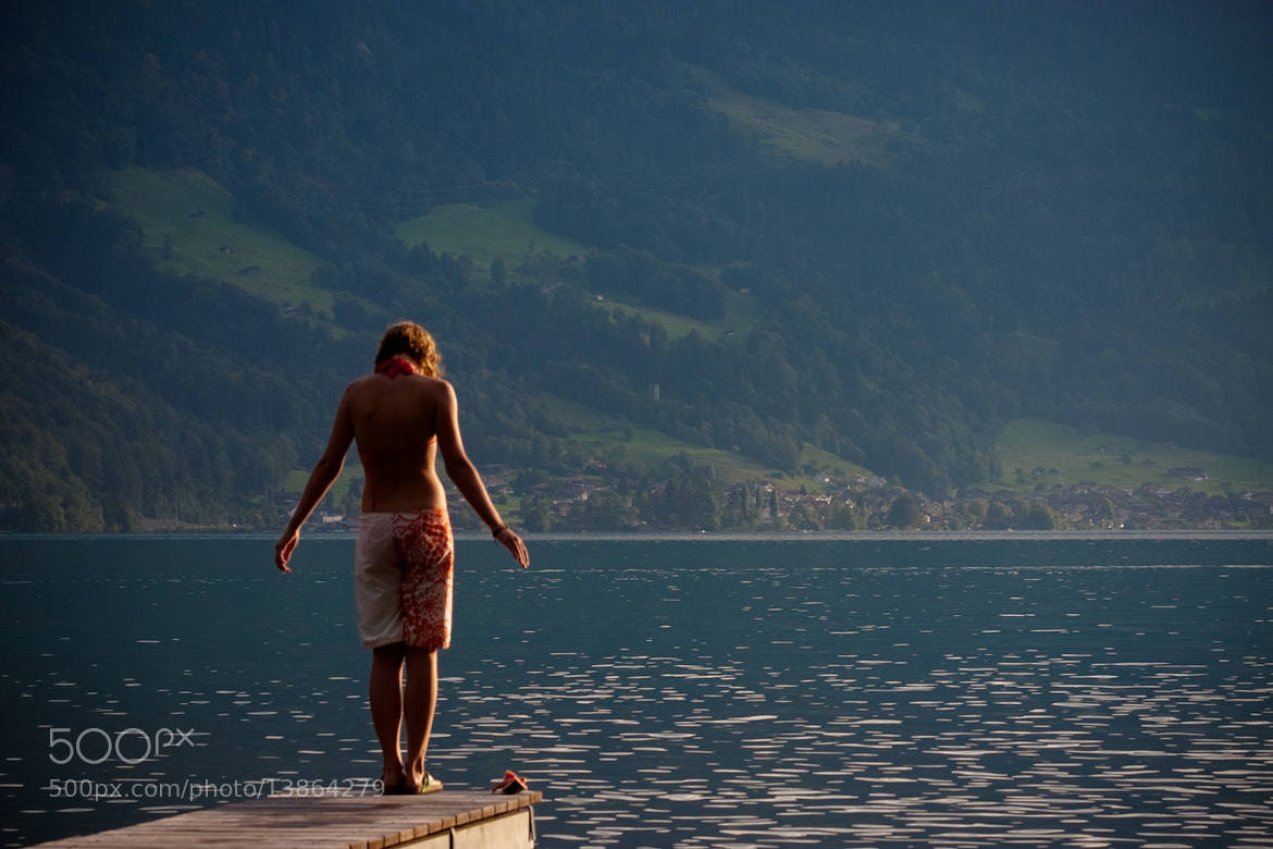 Photograph Girl on pier by Pavlo Milan on 500px