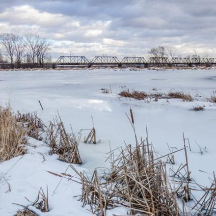 Bridge over Freezed Water