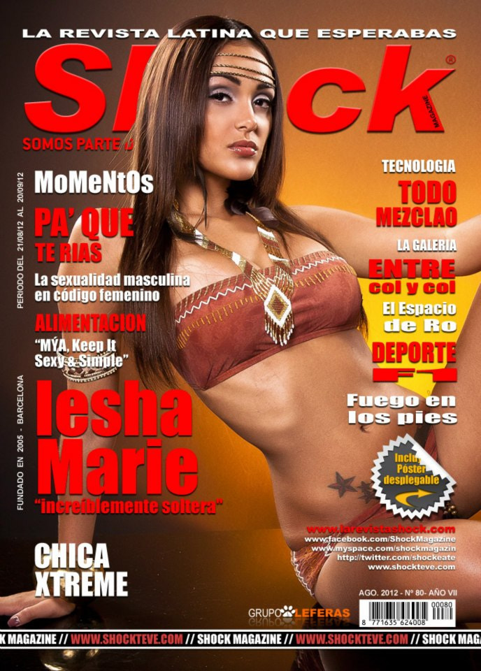 Photograph Shock Magazine- IESHA cover by J Aaron Foto on 500px