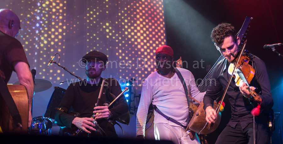 Afro Celt Sound System members