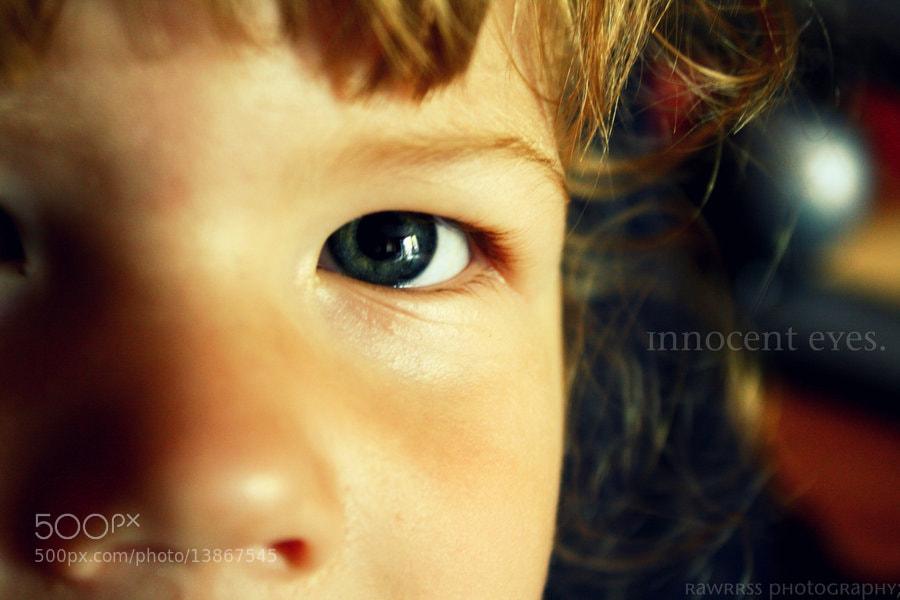 Photograph Innocent Eyes. by Kayla Katona on 500px