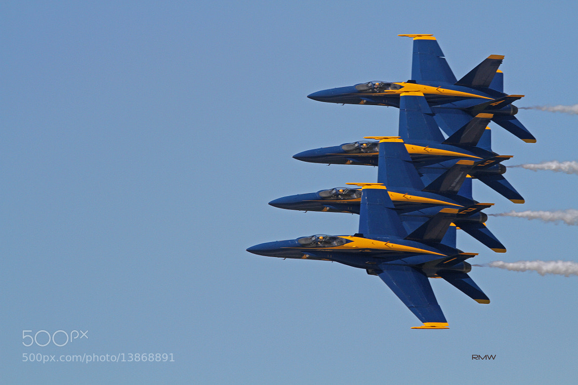Photograph Blue Angels by Rusty Wood on 500px