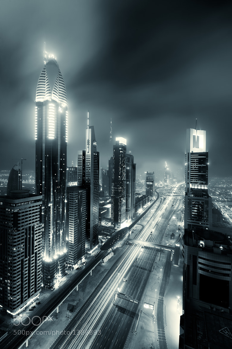 Photograph Sheikh Zayed Road by David Nightingale on 500px
