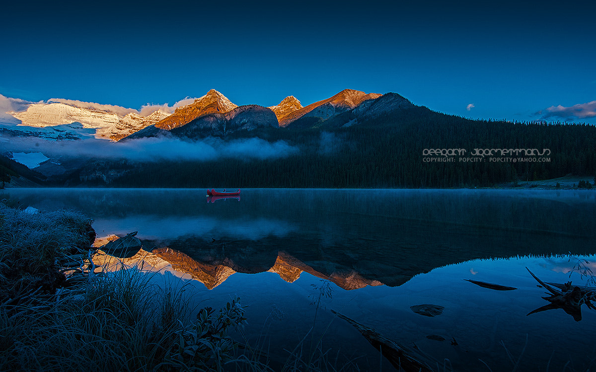 Photograph Morning Reflection at Lake Louise by Peerakit Jirachetthakun 5392 on 500px