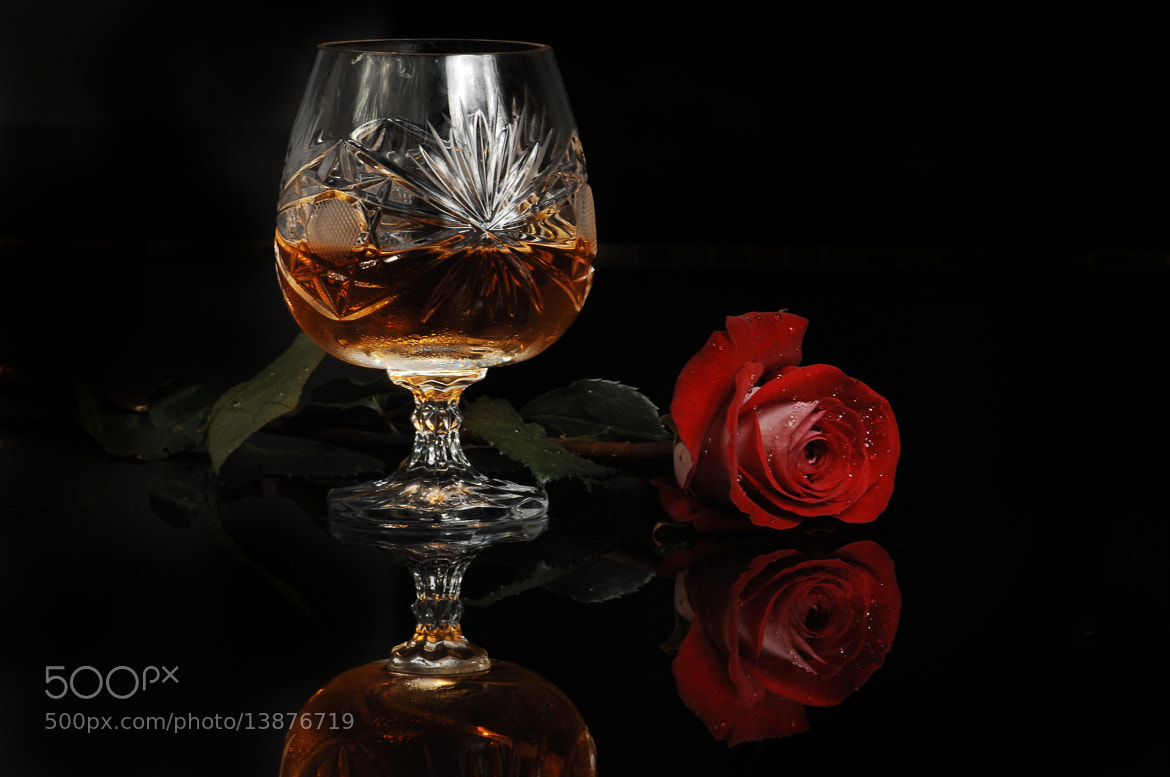 Photograph Cognac and Flower by Cristobal Garciaferro Rubio on 500px