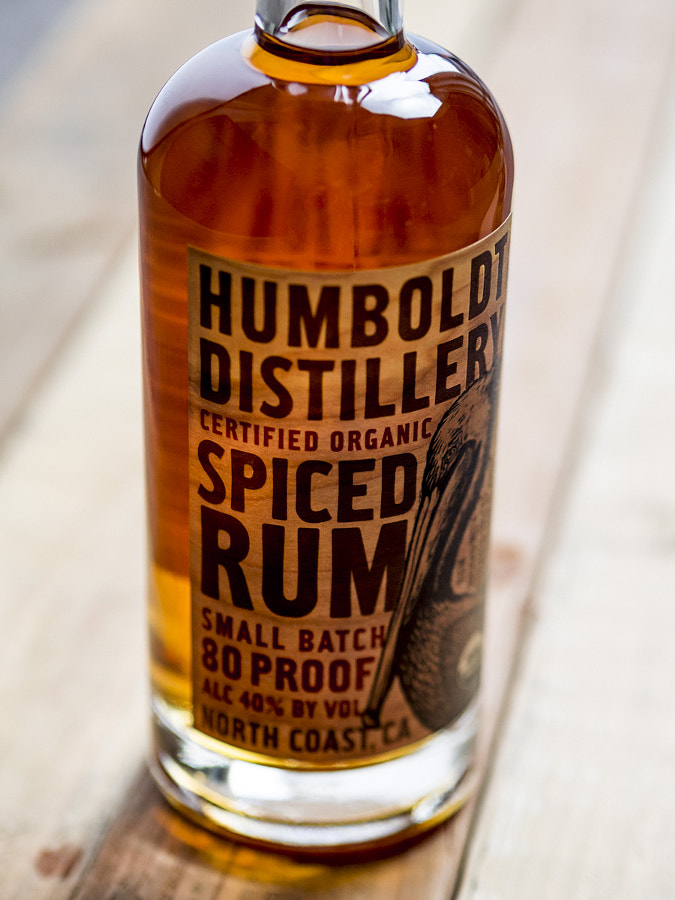 Spiced Rum from Humbolt Distillery, Fortuna CA