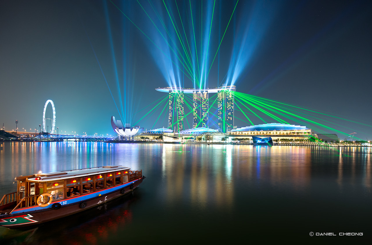 Photograph MBS Laser Battle by Daniel Cheong on 500px