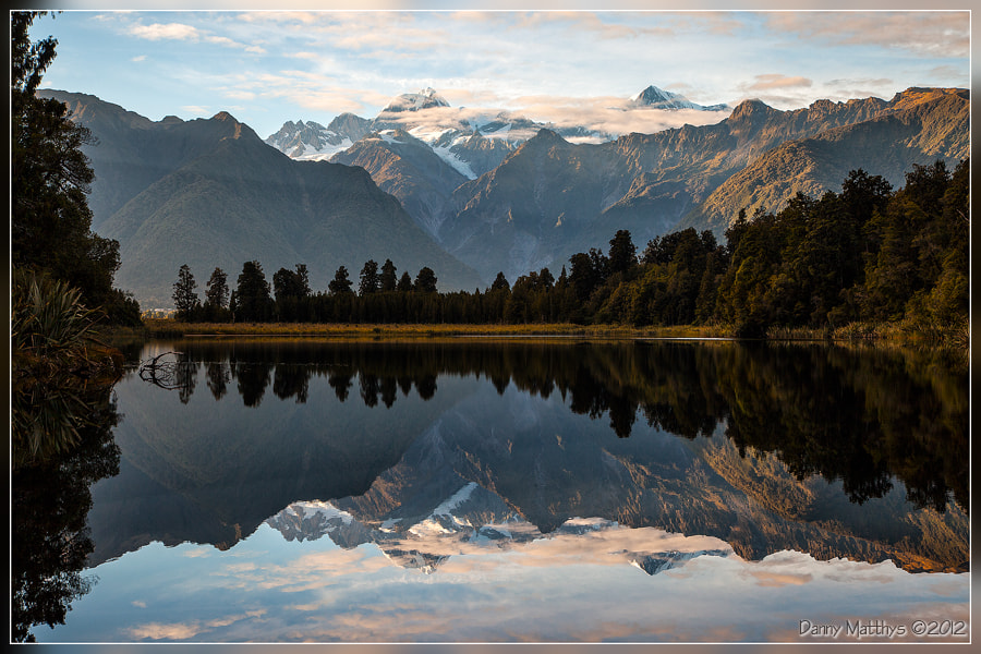 Photograph Lake Matheson by Danny Matthys on 500px