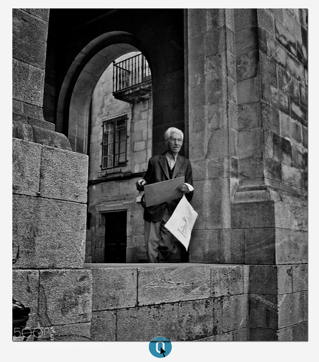 Photograph Cartoonist in Santiago two by CERO . on 500px