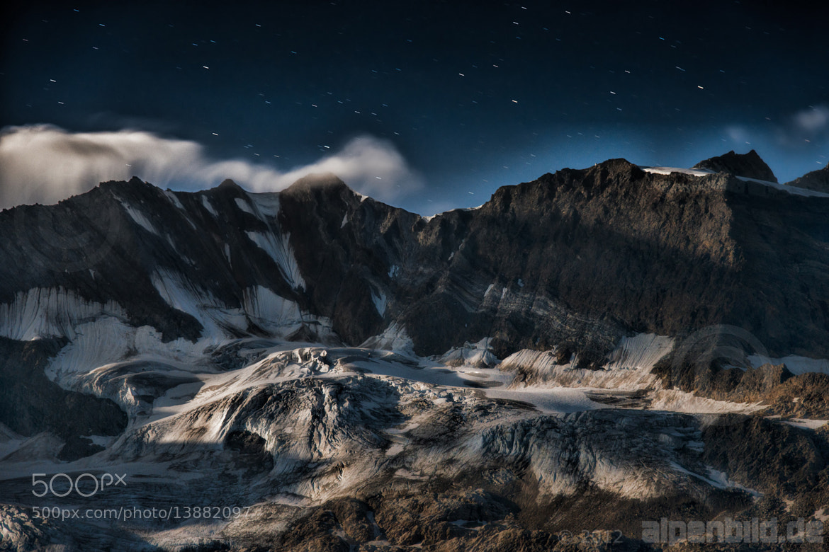 Photograph Glacier in the Moonlight by alpenbild.de  - Ralf Blumenschein on 500px