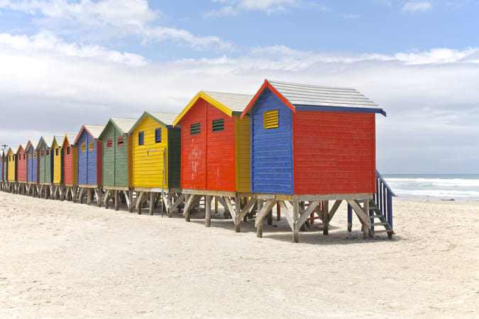 Beach huts by Heather Balmain on 500px