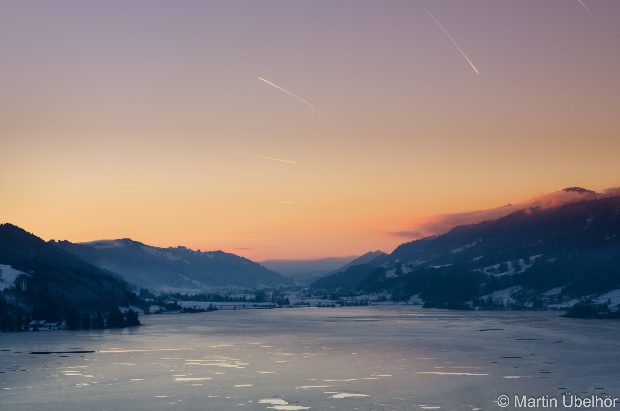 Photograph Icy Sunset by Martin Übelhör on 500px