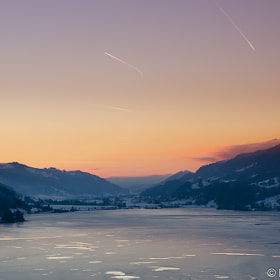 Icy Sunset by Martin Übelhör (Maertyn)) on 500px.com