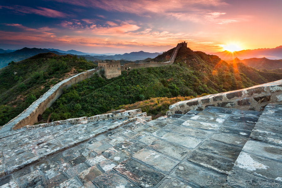 Great Wall at Jinshanling by Glowing Earth Photography on 500px.com