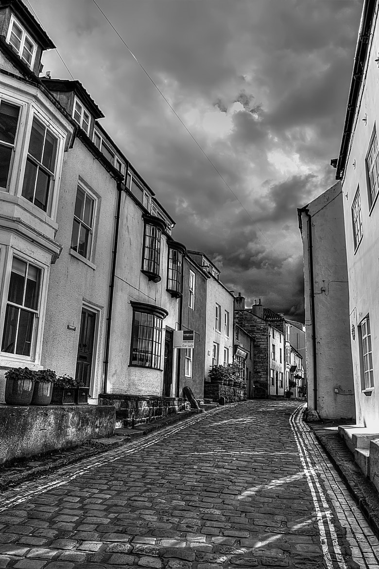 Photograph Staithes Street B&W by Matthew Goodyear on 500px