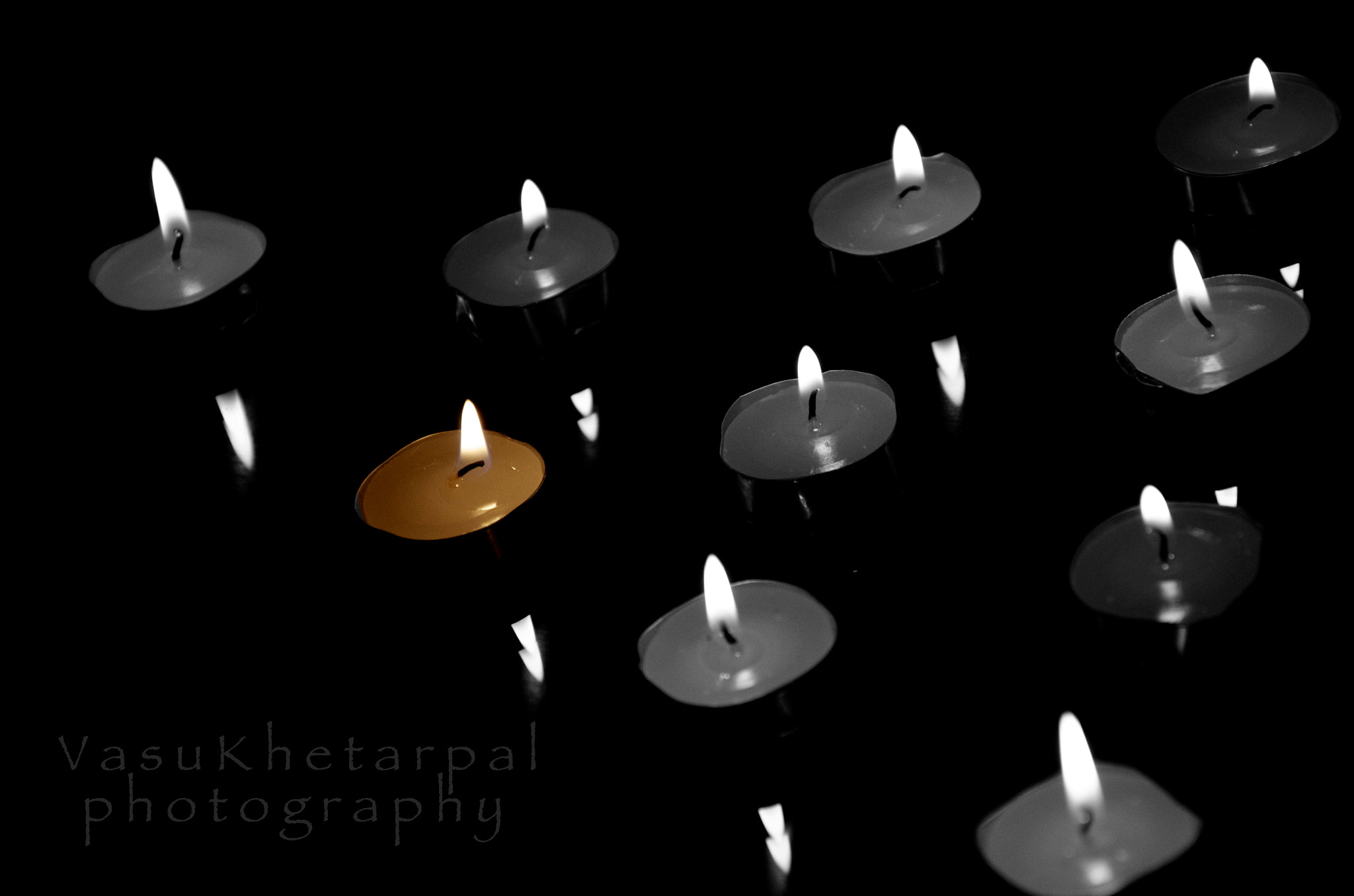 Photograph candles  by Vasu Khetarpal on 500px
