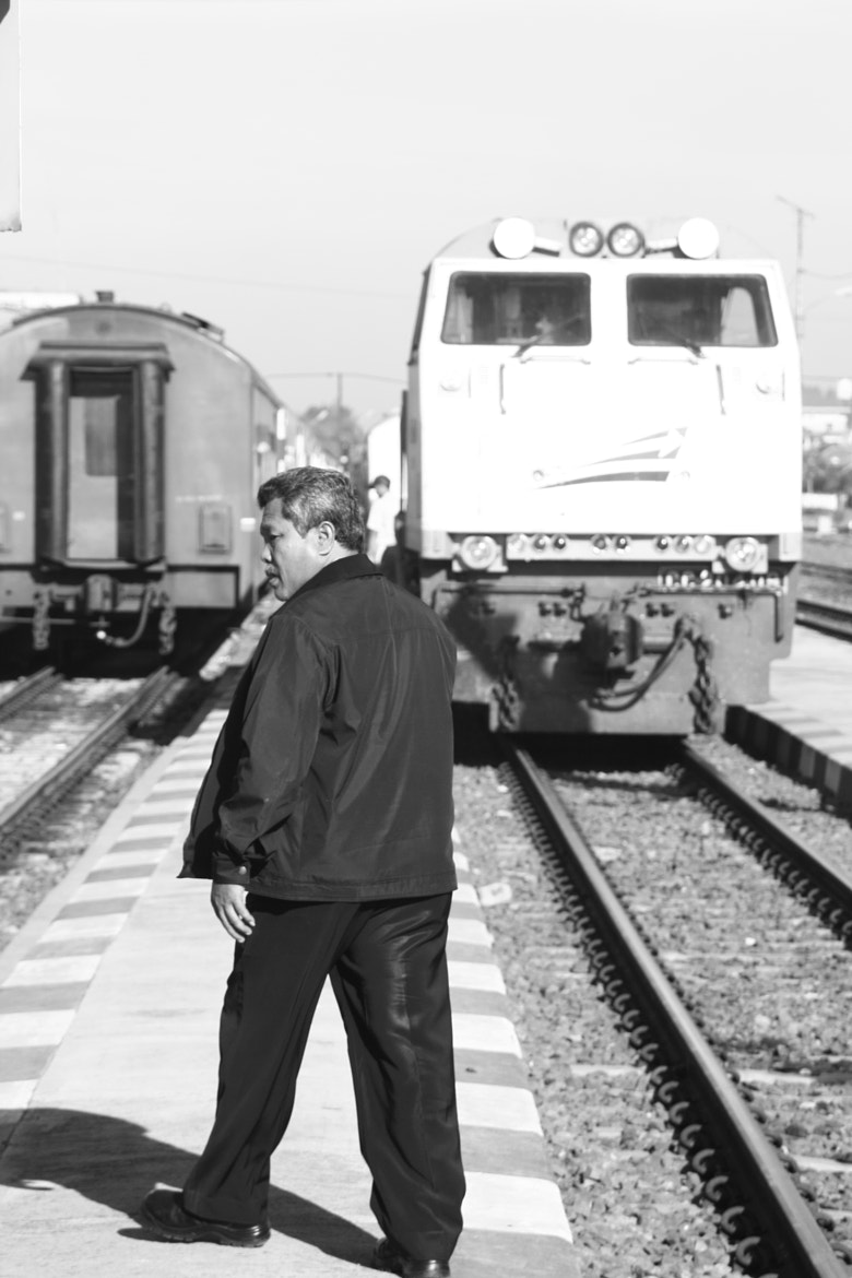 Photograph The Train's Boss by Ghanes Eka Putera on 500px