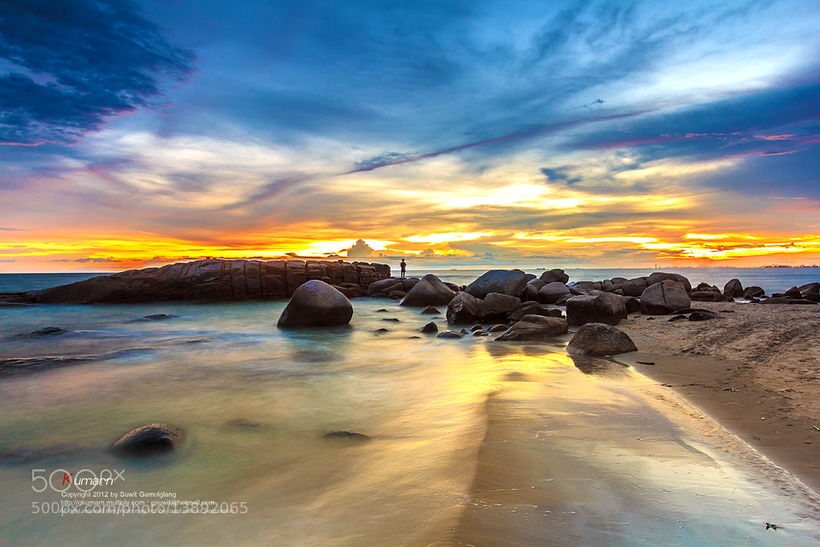Photograph Sunset time by Suwit Gamolglang on 500px