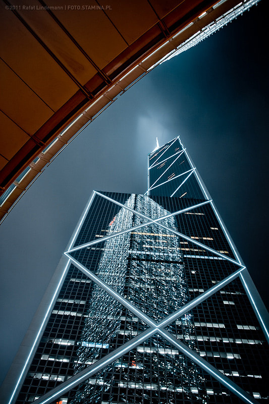 Photograph HongKong by night by Rafał Lindemann on 500px