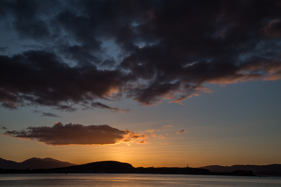 Sunset Oban
