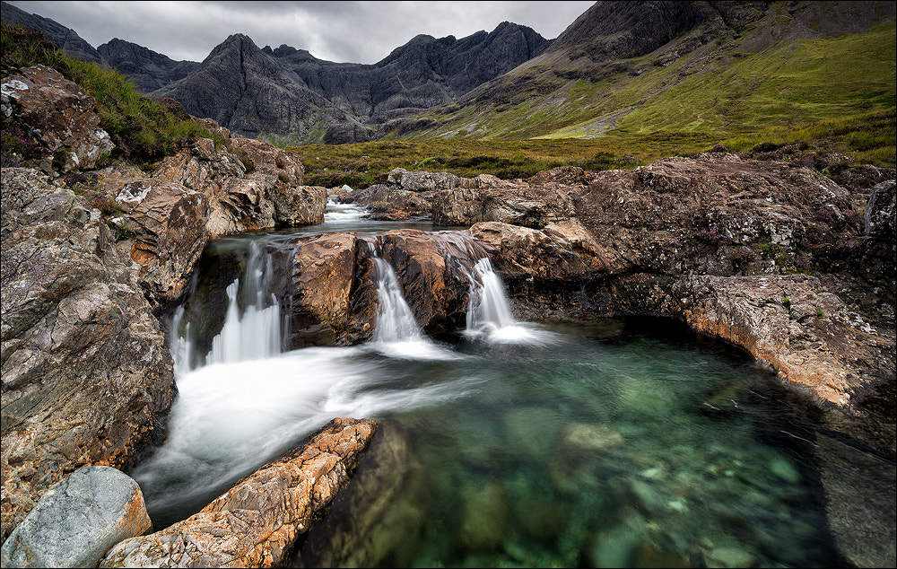 Photograph [ ... fairy pool falls ]  by D-P  Photography on 500px