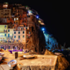 Manarola by night | Liguria, Italy 2012
