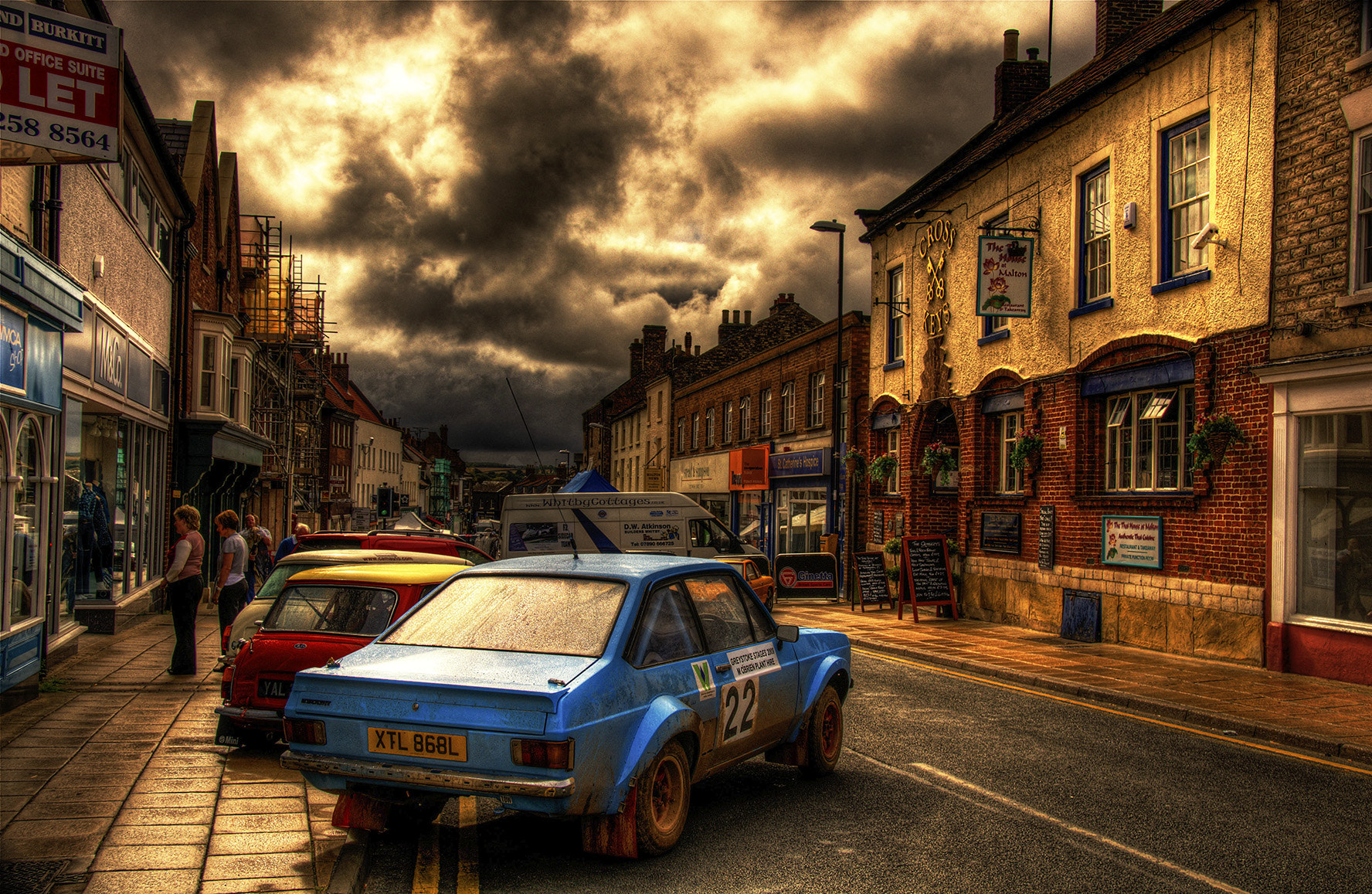 Photograph Dark skies threaten the day by Alonza Driver on 500px