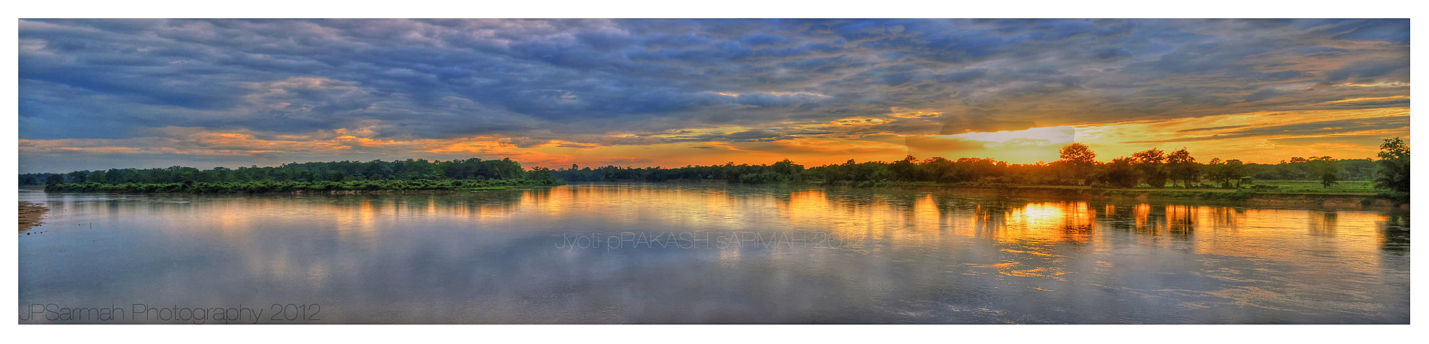 Photograph An evening by the Dihing Side. by Jyoti Prakash Sarmah on 500px