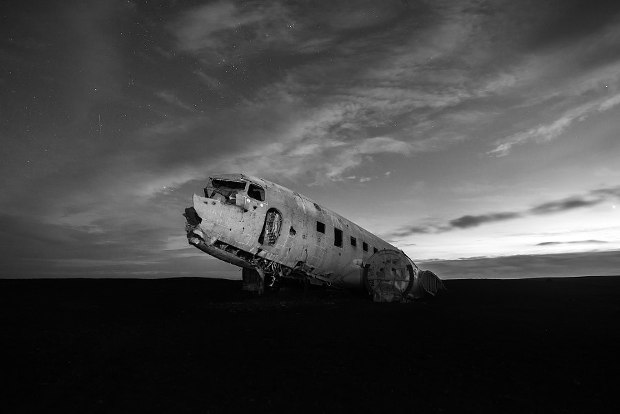 Plane Wreckage, Iceland by Sarawut Intarob on 500px.com