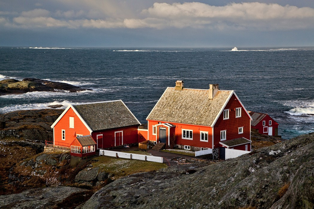 Photograph A house on the end of the world by Jiri Paur on 500px