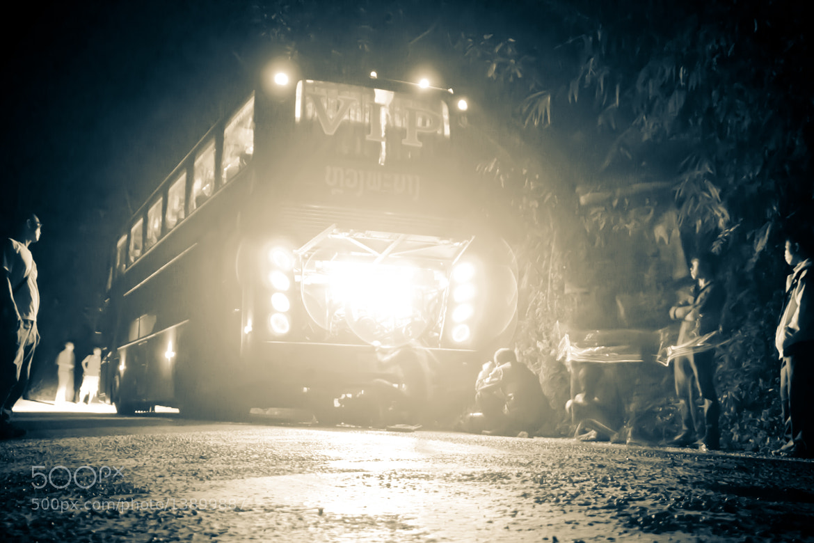 Photograph Night Bus, laos by Vittorio Beltrani on 500px