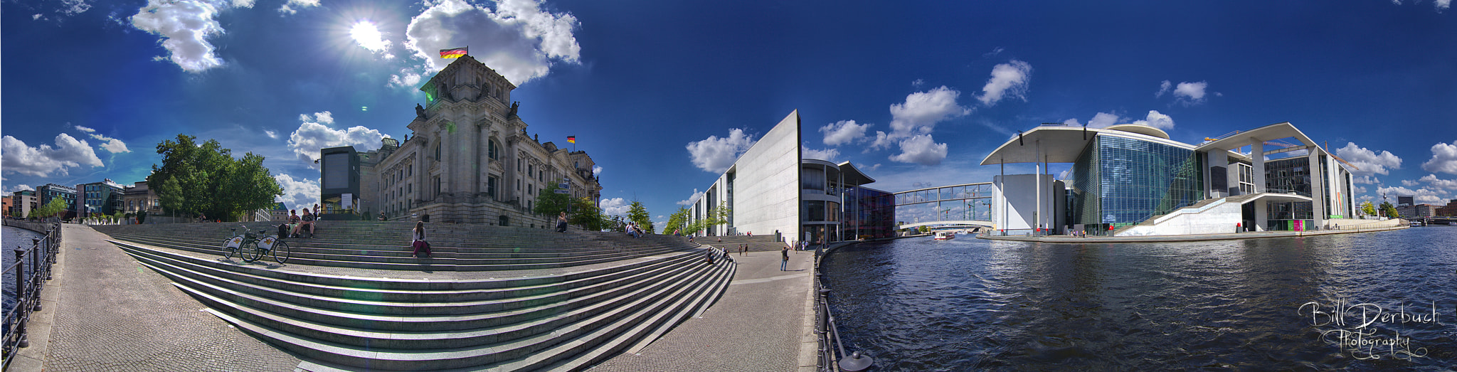Photograph Reichstagsufer 360° Pano by Bill Derbuch on 500px