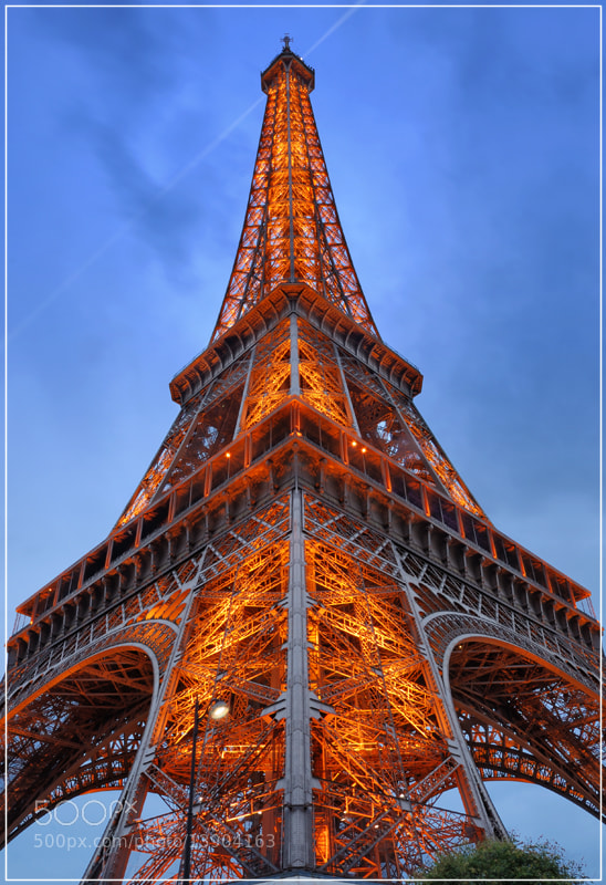 Photograph Paris, Eiffel tower. by Valerijs Kostreckis on 500px
