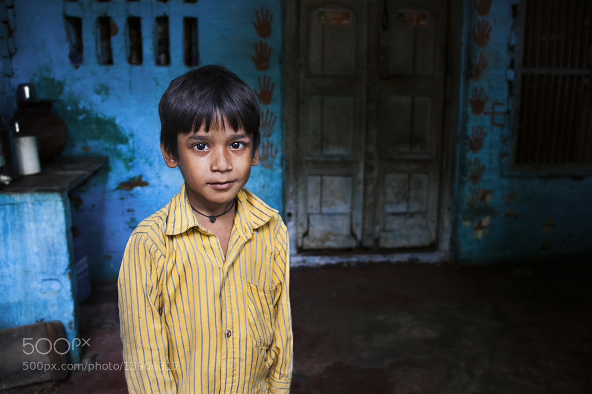 Photograph Face From India by Hussain Alkalthoom on 500px