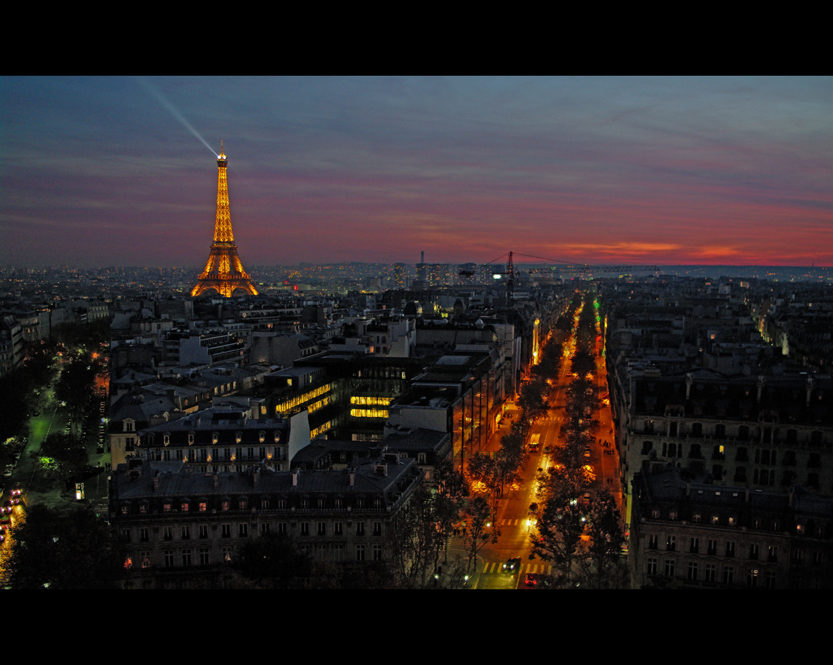Photograph One night in Paris by Luc B. on 500px