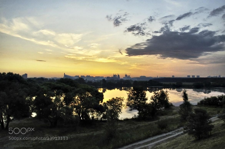 Photograph view before sunrise by Lyudmila Izmaylova on 500px