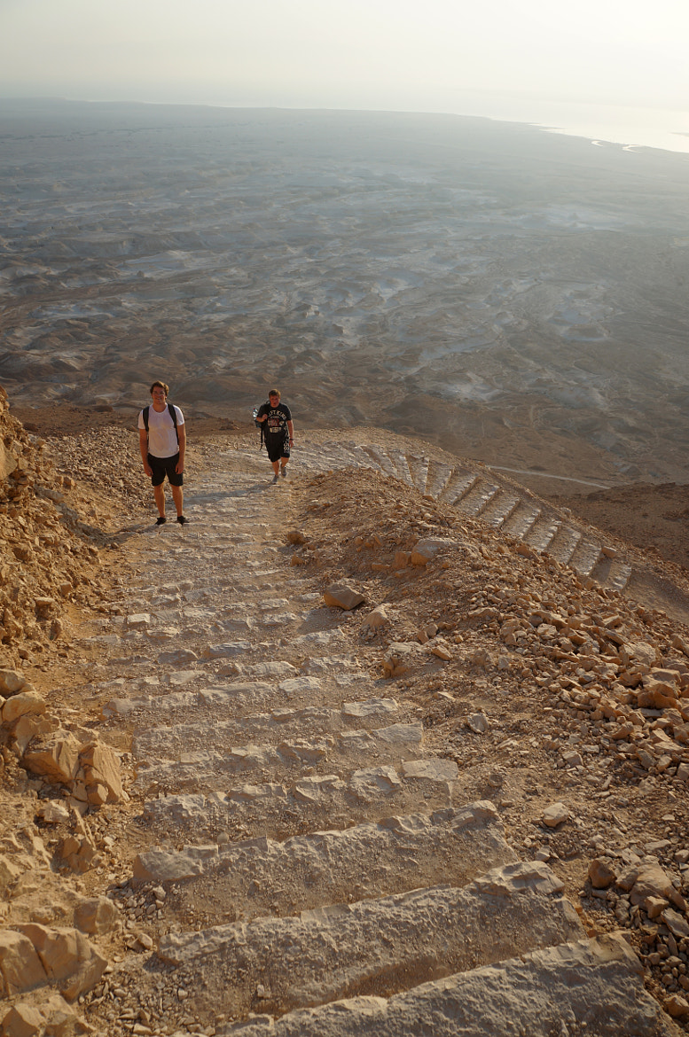 Photograph Stairway to Masada by Tom Moor on 500px