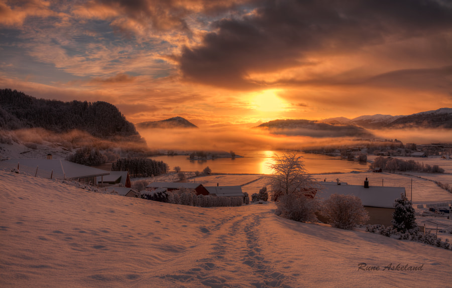 After Snowfall by Rune Askeland