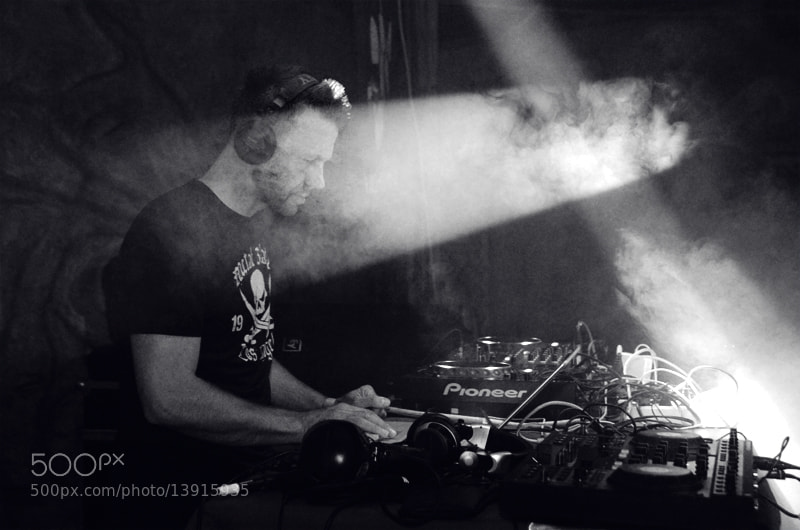 Photograph Marcus Meyn (Camouflage) Dj set by Aleksandra Kalach on 500px