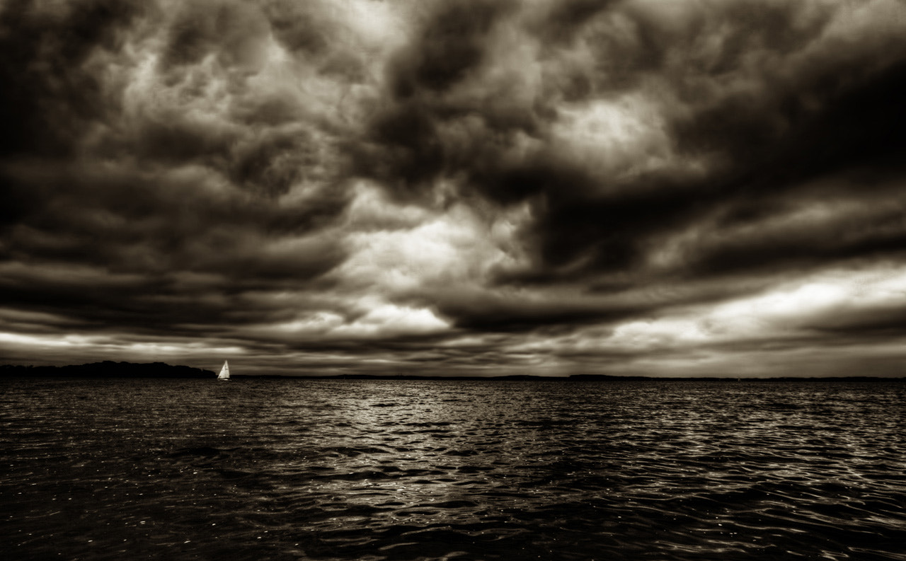 Photograph Sailing in the Storm by Joseph Eckert on 500px