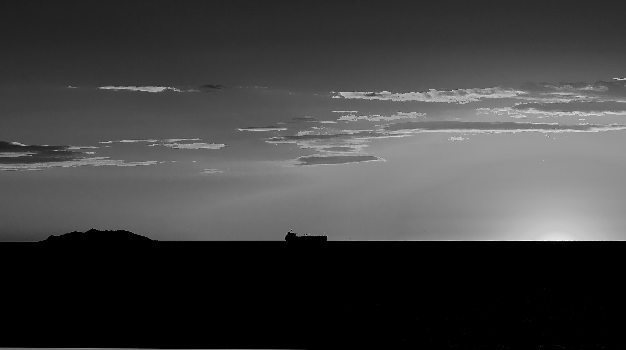 Photograph Sunset in B/W by Dario Lenza on 500px
