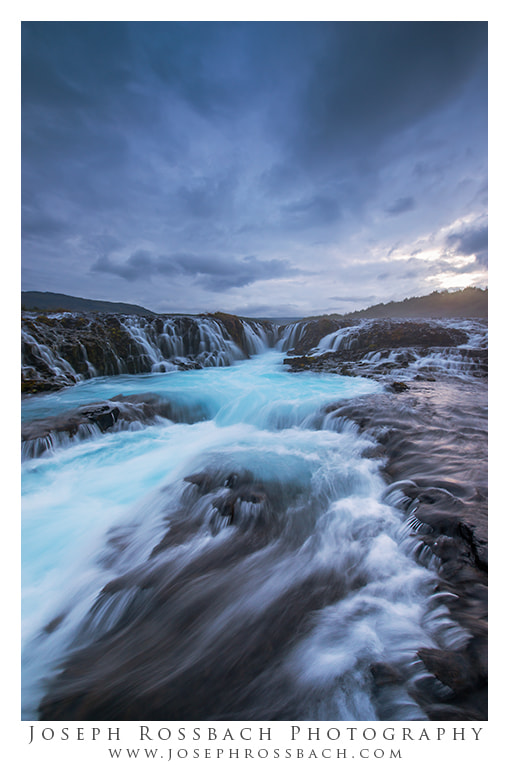 Photograph Bruarafoss Blues by Joseph Rossbach on 500px