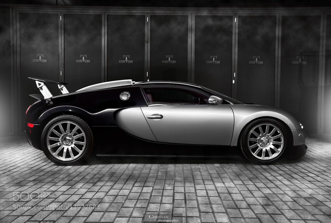 Photograph Bugatti Veyron 16.4 . Killer speed records .by Chensan by  Chensan on 500px